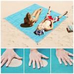 Пляжная подстилка анти-песок Sand Free Mat (1,5 х 2 м)