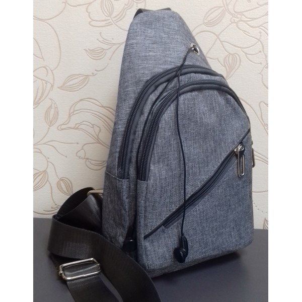 Мужской мини-рюкзак через плечо