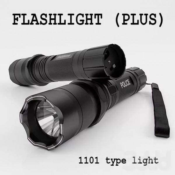 Фонарь Электрошокер Type Light Flashlight Plus 1101