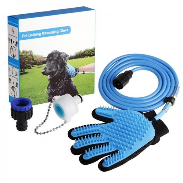 Перчатка для купания домашних животных