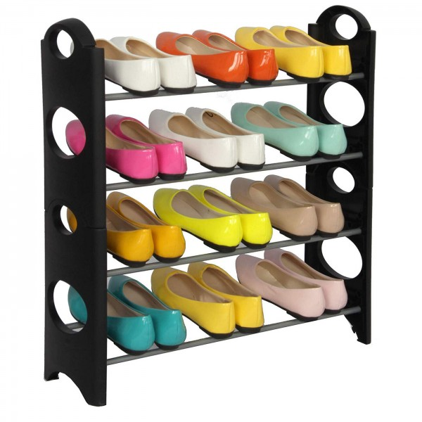 Этажерка для обуви 4 Tiers Shoe Rack 4 полки