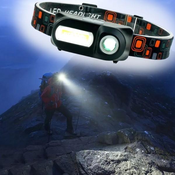 Фонарь налобный Double Light KX-1804