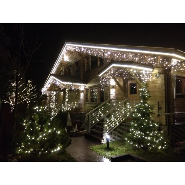 Новогодняя подсветка для дома и дачи