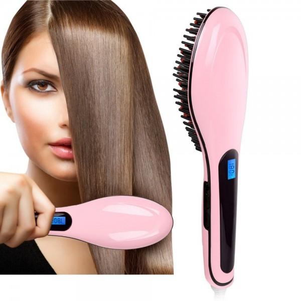 Электронная расческа-выпрямитель fast hair straightener HQT-906