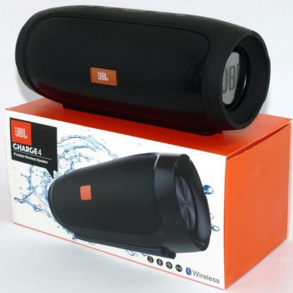 Портативная Bluetooth колонка Charge 4 (черный)