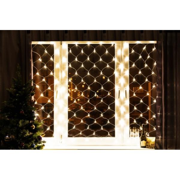 Светодиодные шторы сетка (2,0 х 2,0 м LED)