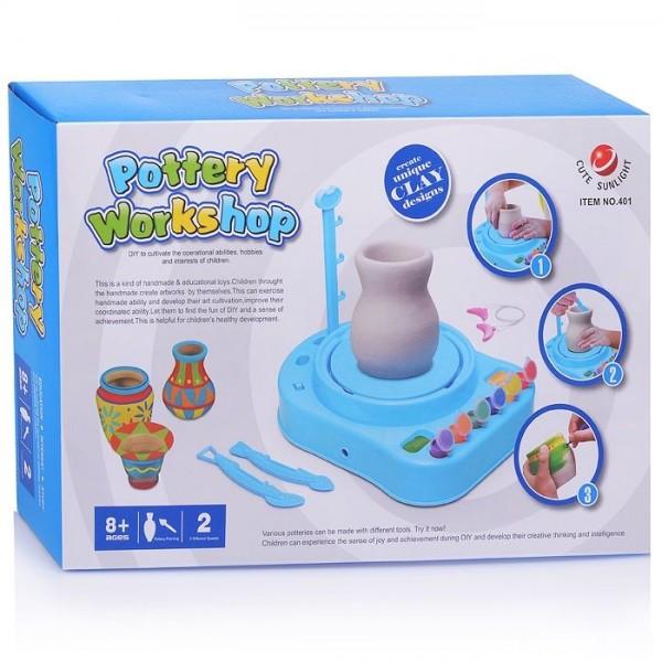 Детский гончарный набор Pottery Woorkshop