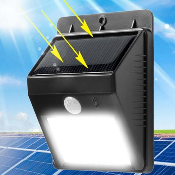 Беспроводной прожектор с датчиком движения на солнечной батарее Ястреб