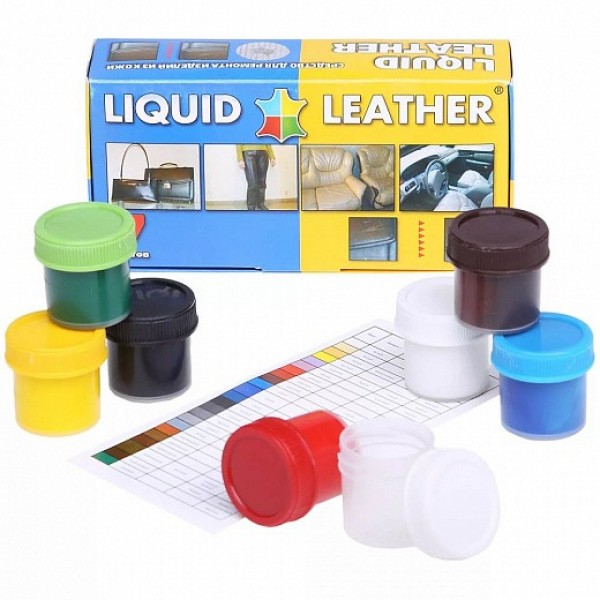 Набор для ремонта кожаных изделий - жидкая кожа Liquid Leather