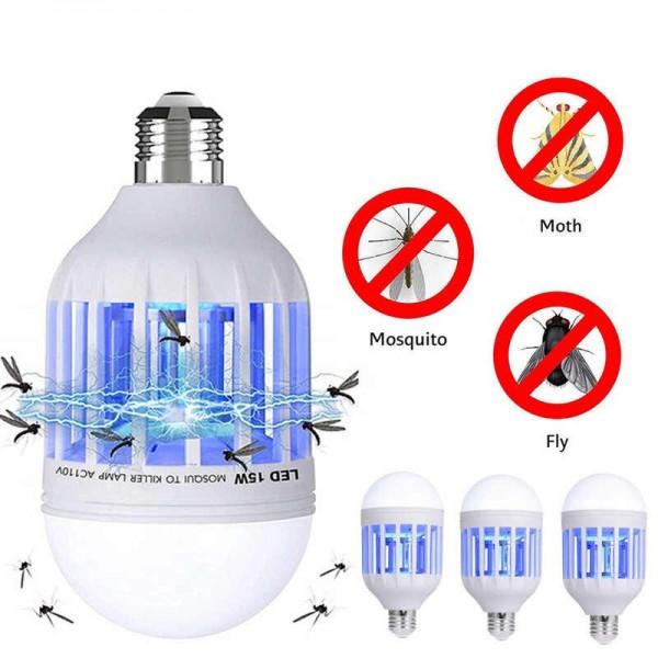 Лампа ловушка от комаров и насекомых Zapp Light