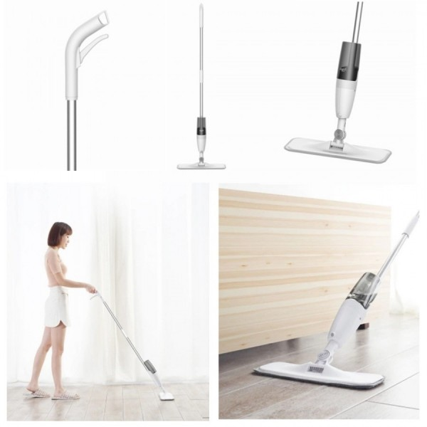 Швабра с распылителем и веником Water Spray Mop