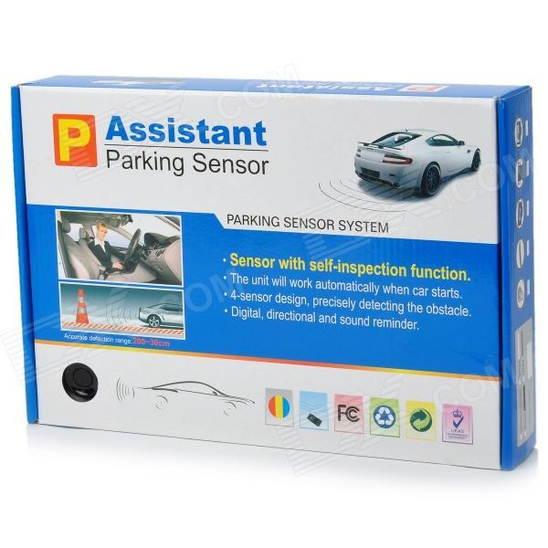 Парктроник Assistant Parking Sensor на 4 датчика