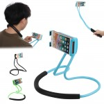 Универсальный держатель для смартфона на шею c гибкой платформой и поворотом на 360°