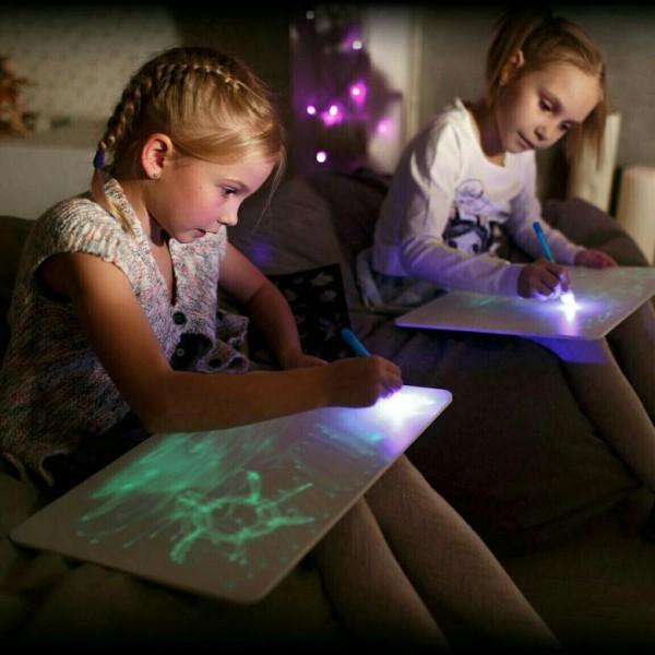 Набор для рисования в темноте (планшет для рисования A3)