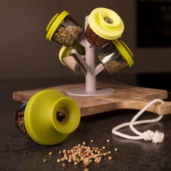 Набор для специй и приправ Spice Rack