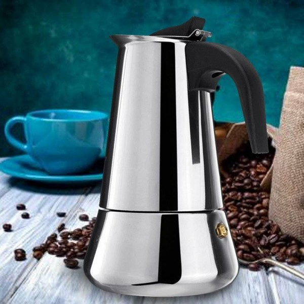 Гейзерная кофеварка Espresso maker 300 мл (на 4 чашки)