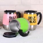 Кружка мешалка бочонок Self Stirring Mug