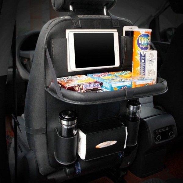 Автомобильный органайзер Folding Dinner Posture Back Handing Bag для заднего сиденья