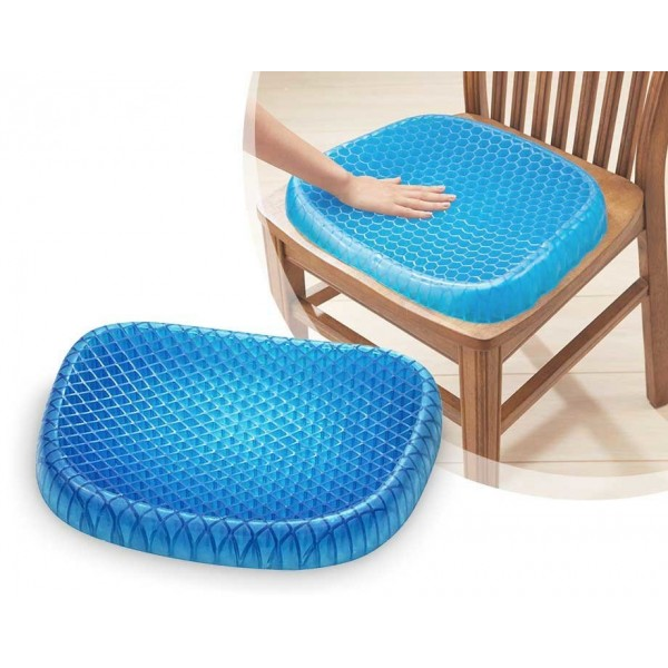 Гелевая подушка на сидение для снятия напряжения