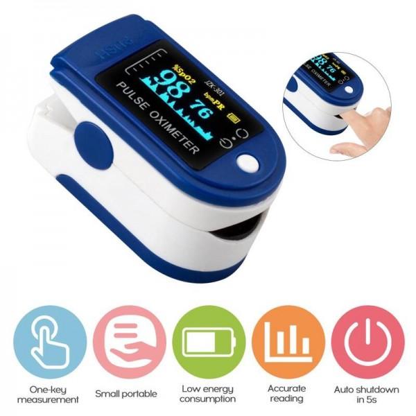 Пульсоксиметр на палец PulseOximeter