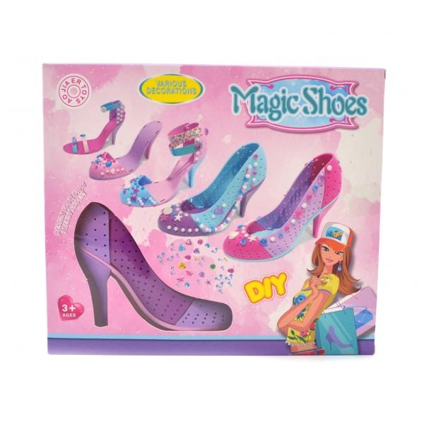 Игровой набор для моделирования обуви Magic Shoes