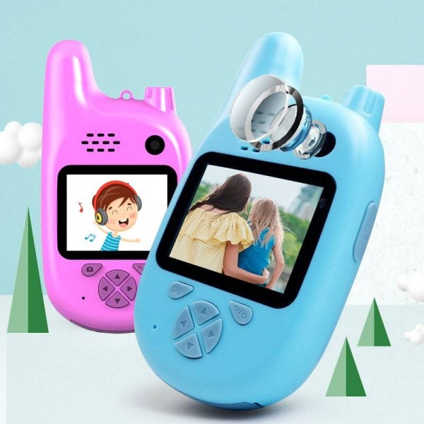 Детский фотоаппарат Children's fun camera (рация + фотоаппарат)
