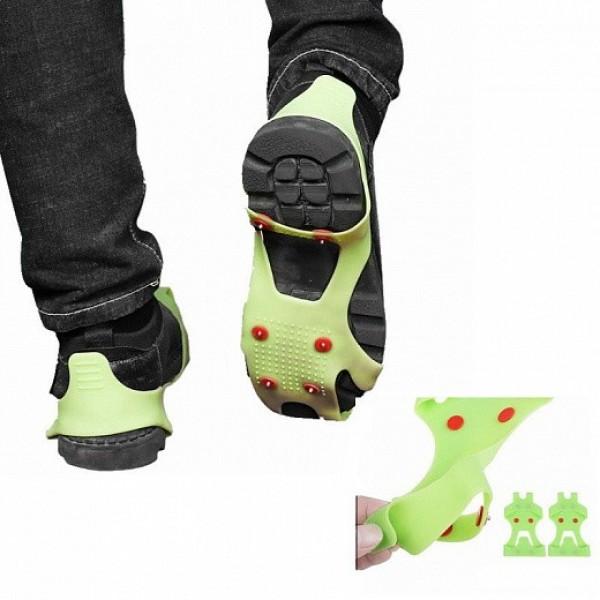 Ледоступы Ice Grippers - противоскользящие накладки на обувь