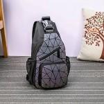 Сумка-рюкзак геометрический хамелеон