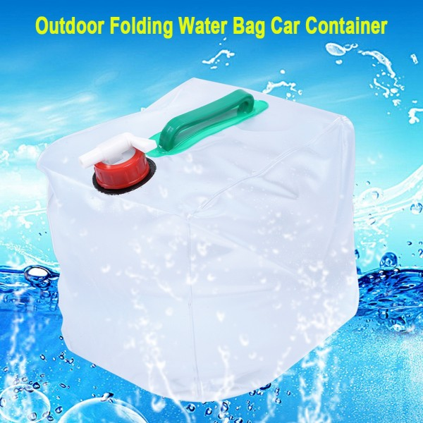 Складная канистра с краном Folding Water Carrier 10 л