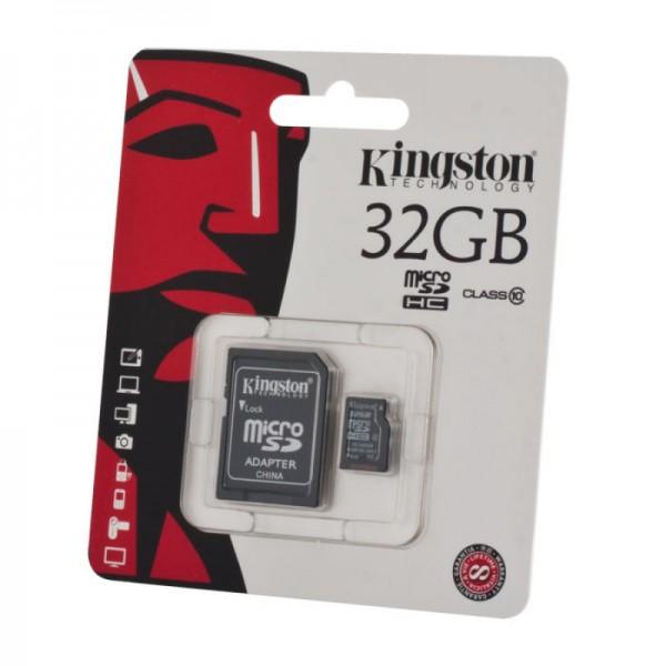 Карта памяти microSDHC KINGSTON 32 ГБ