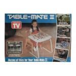 Универсальный приставной складной столик Table Mate II