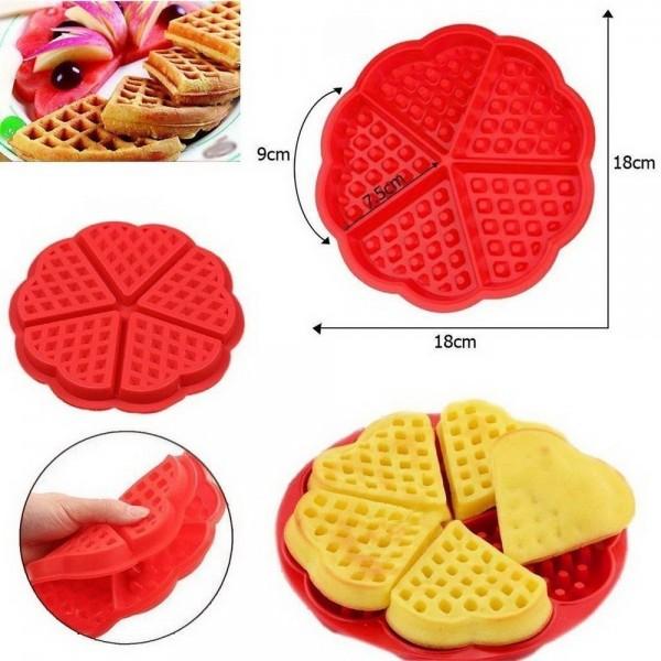 Форма силиконовая для вафель