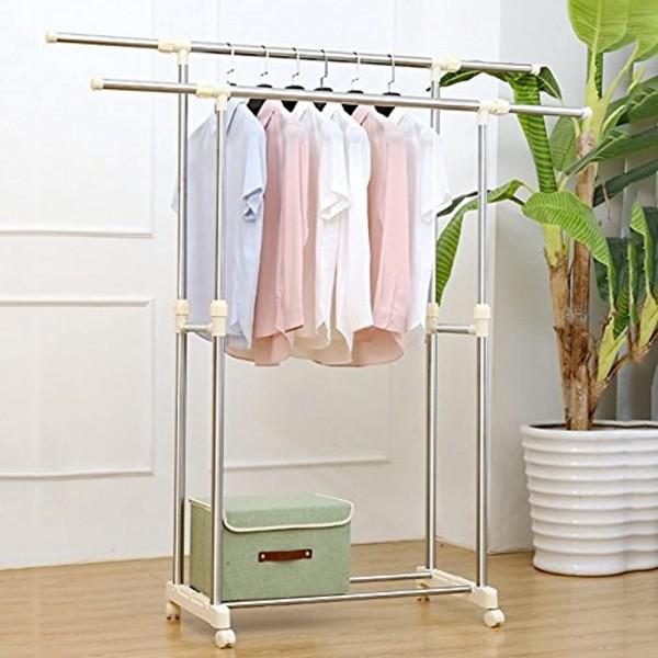 Вешалка напольная для одежды Double-pole