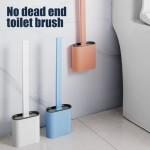Гибкая силиконовая щетка для туалета