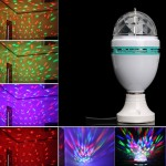Вращающаяся диско лампа