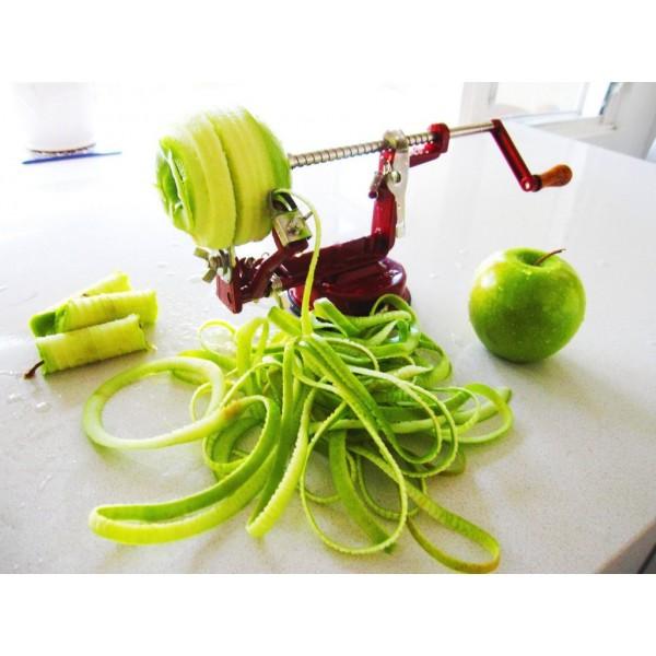 Прибор для чистки и нарезки яблок 3 в 1 Core Slice Peel