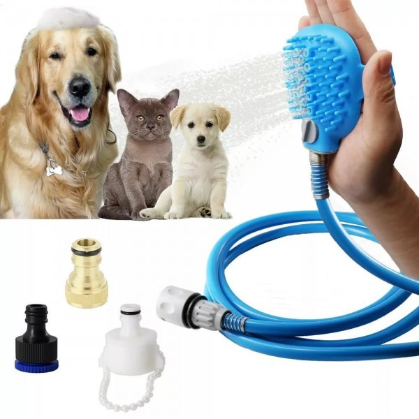 Щетка душ Pet Bathing Tool для собак