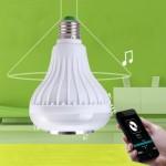 Музыкальная светодиодная лампа с динамиком Music Bulb party ball