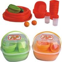 Набор посуды для пикника на 4 персоны