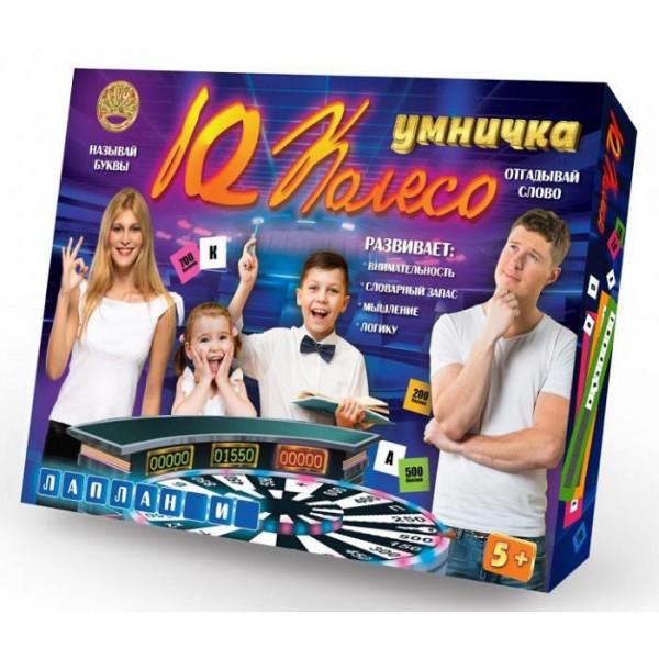 Игра настольная IQ Колесо Умничка Поле Чудес