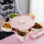 Блюдо для сухофруктов и конфет CANDY BOX PATTERN ROTATING