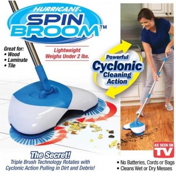 Беспроводной веник Hurricane Spin Broom