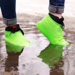 Бахилы силиконовые водонепроницаемые на обувь