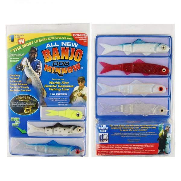 Наживка для рыбалки Banjo 006 Minnow